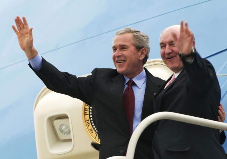 Sonny Perdue George W. Bush, Sonny Perdue George Bush, Sonny Perdue bush air force one