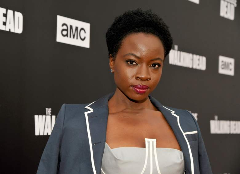 "Danai Gurira attends AMC presents ""Talking Dead Live"" for the premiere of ""The Walking Dead"" at Hollywood Forever on October 23, 2016 in Hollywood, California. (Getty)"