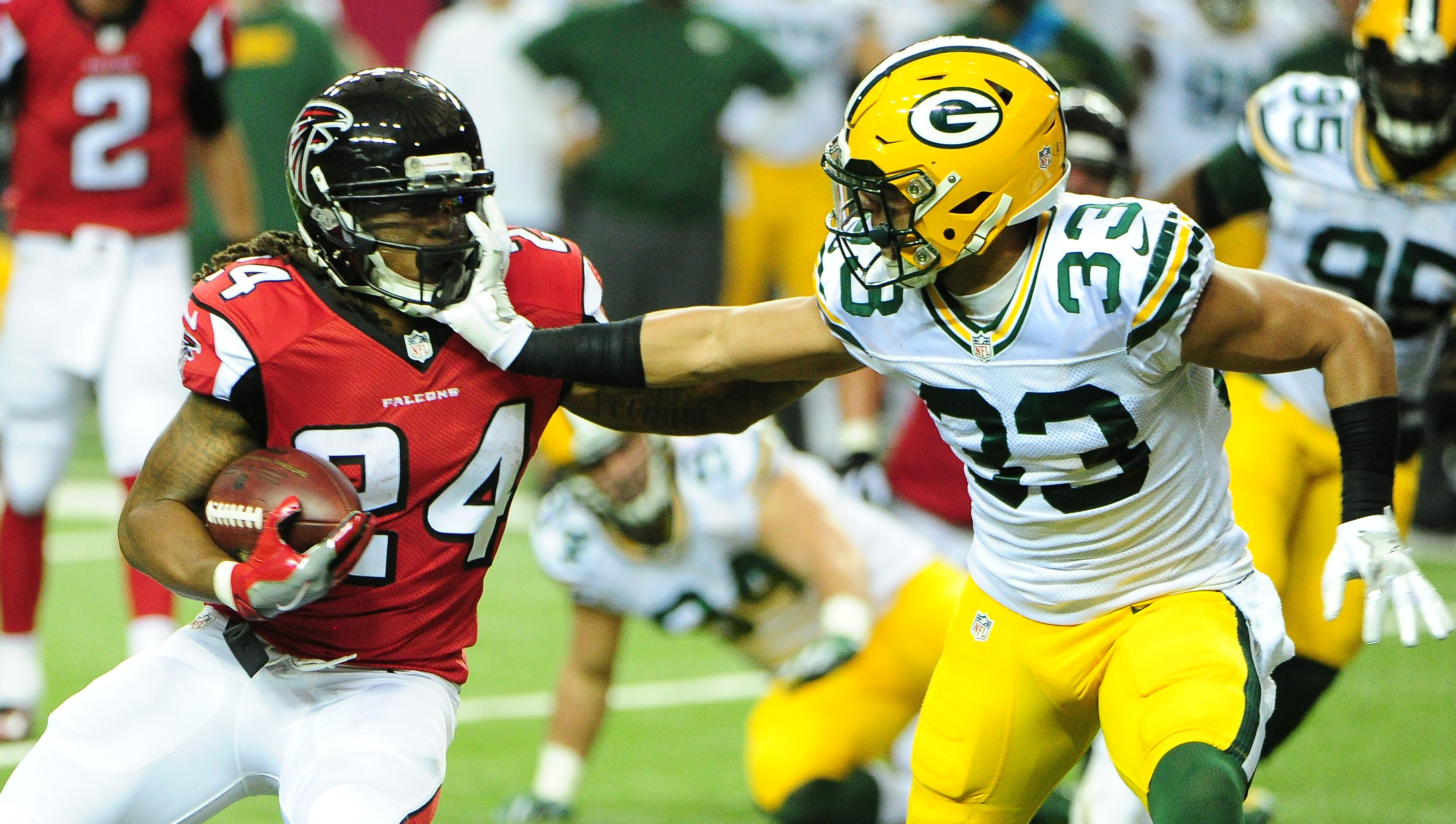 Falcons' playoff game date, time set - ajc