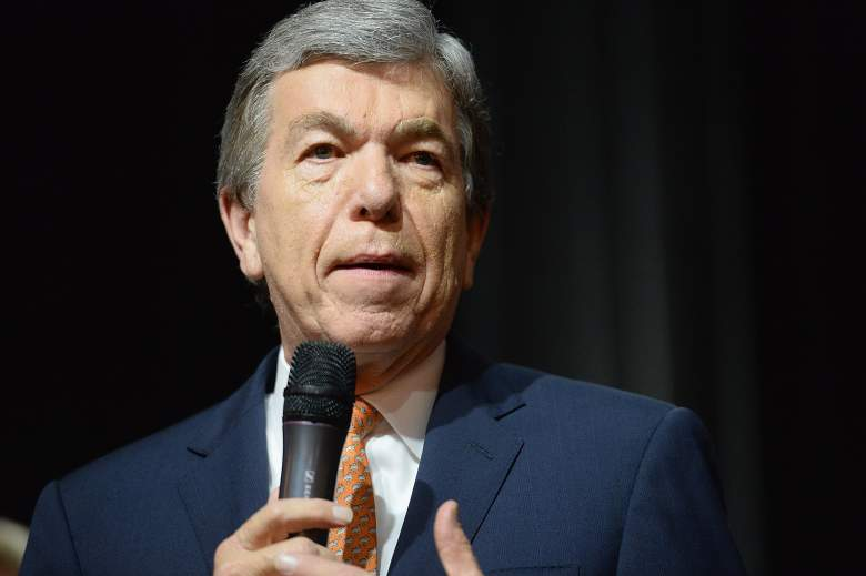 SPRINGFIELD, MO - NOVEMBER 09: U.S. Sen. Roy Blunt (R-MO) speaks to supporters on November 9, 2016 in Springfield, Missouri. Blunt was successful in his reelection bid over Democratic Secretary of State Jason Kander.  (Photo by Michael B. Thomas/Getty Images)