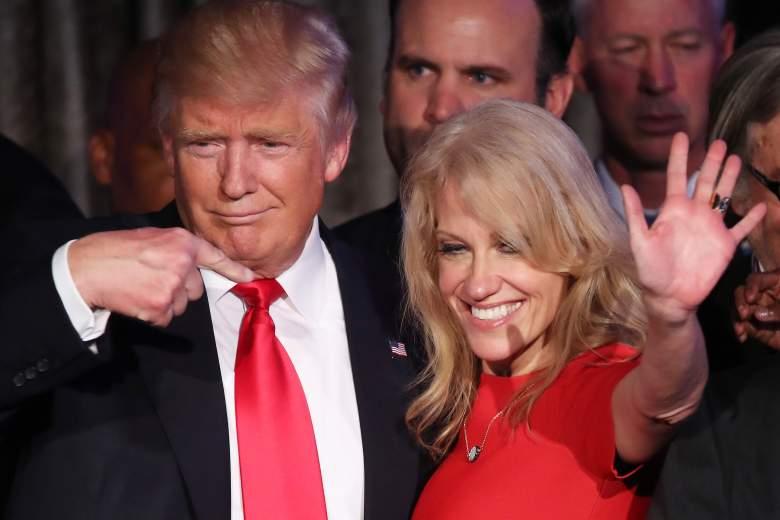 Kellyanne Conway donald trump, Kellyanne Conway trump, Kellyanne Conway election night