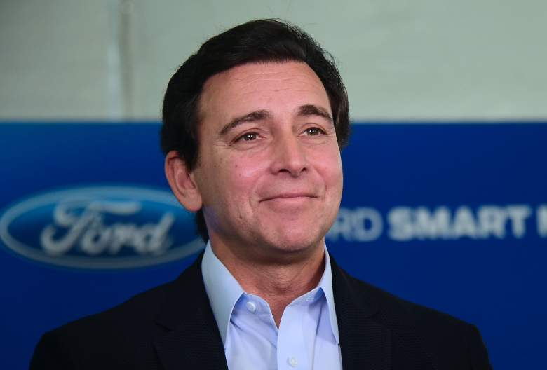 Mark Fields Los Angeles Auto Show, Mark Fields Ford, Mark Fields Ford Motors