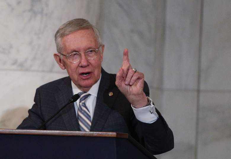 Harry Reid, Harry Reid speech, Harry Reid portrait unveiling
