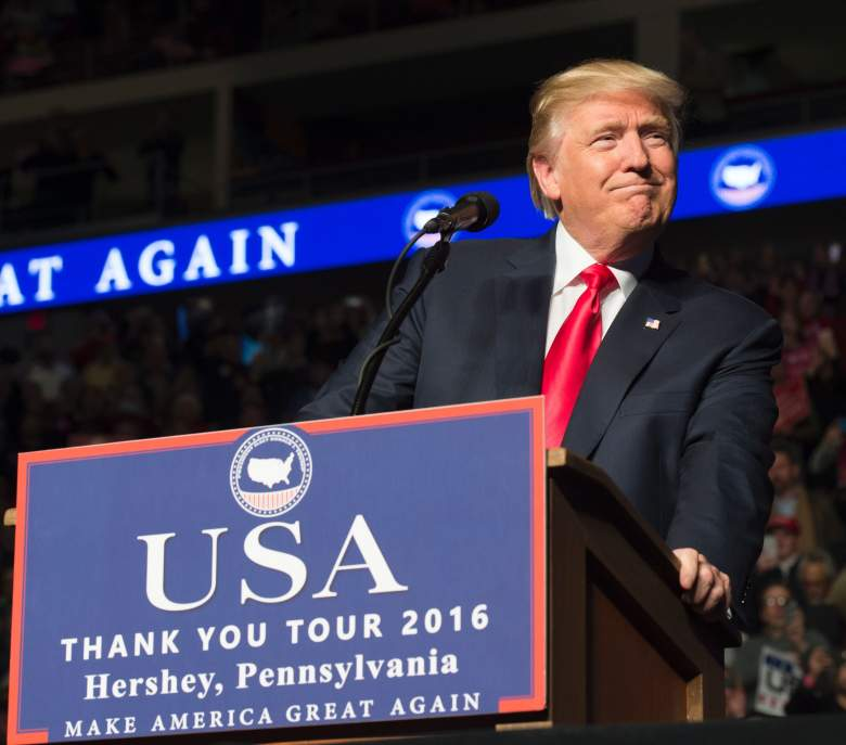 Trump president swearing in time