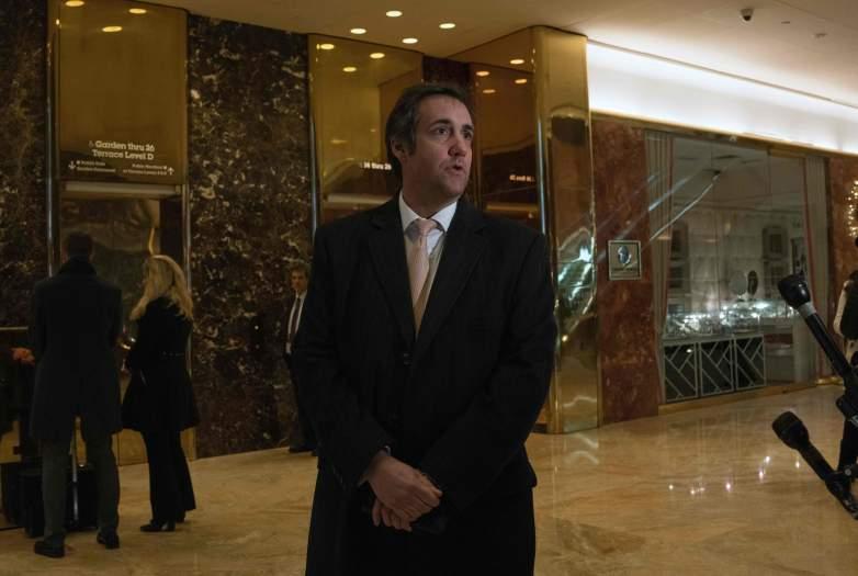 Donald Trump, Michael Cohen, AMI
