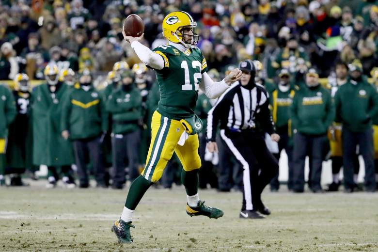 The Green Bay Packers defeated the New York Giants on January 8 to advance to the NFC Divisional round. (Getty)