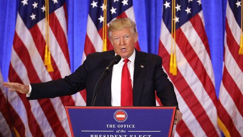 Donald Trump press conference, Trump press conference january 11, trump conference january
