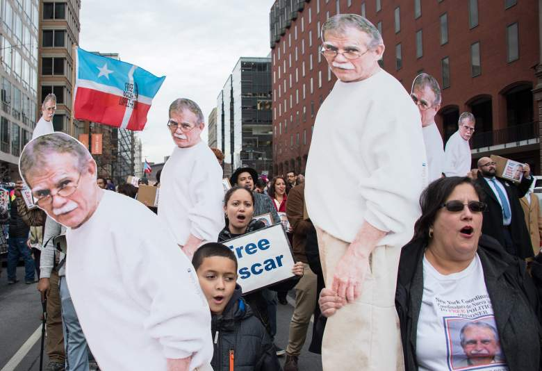 Oscar Lopez Rivera, Oscar Lopez Rivera release, Oscar Lopez Rivera protest