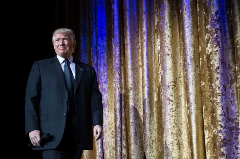 Donald Trump inauguration, Donald Trump inauguration ball, Donald Trump Chairman's Global Dinner