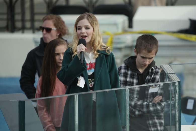 Jackie Evancho, Donald Trump Inauguration singer, Donald Trump National Anthem singer