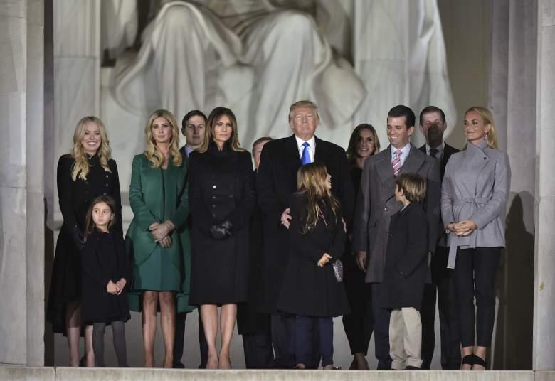 tiffany trump inauguration