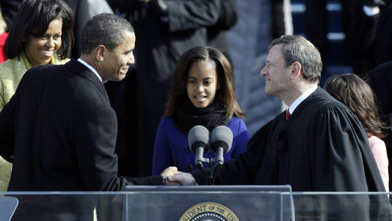 John Roberts Oath Flub, Obama Swearing in, Presidential Swearing In