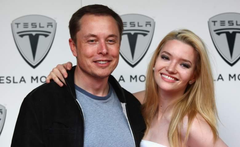 Elon Musk, Talulah Riley