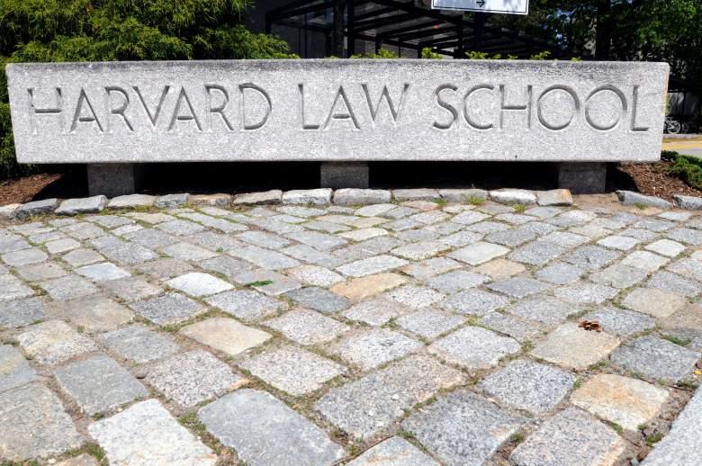 Harvard Law School, Harvard Law School entrance, Harvard Law School campus
