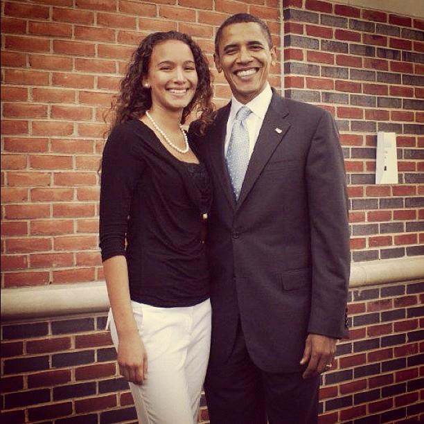 Jessica Lynne Harris President Barack Obama