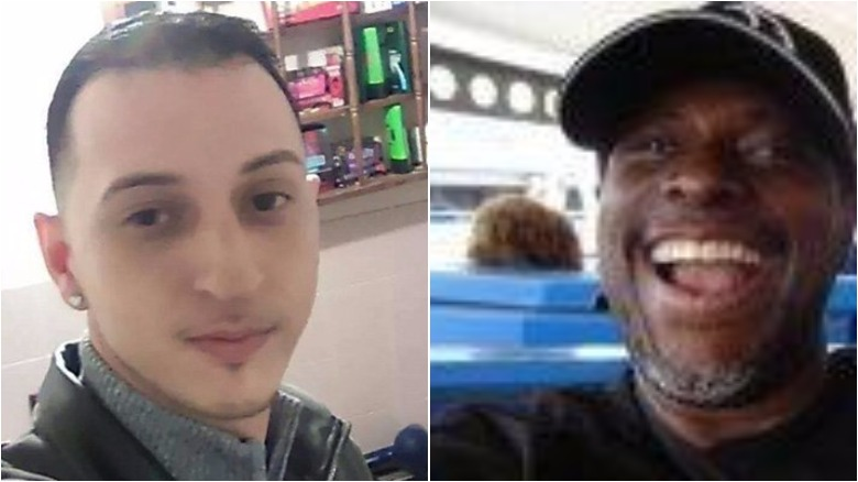 Jose Nieves, left, was fatally shot by off-duty Chicago Police Officer Lowell Houser, right, authorities say. (Facebook)