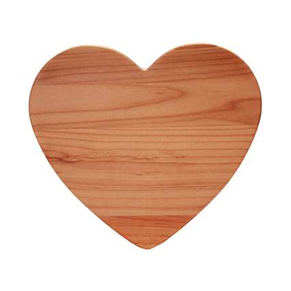 oregon heart cutting board