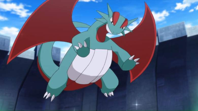 Salamence and Rayquaza are two other powerful Pokemon in Pokemon Duel. (Pokemon Duel)