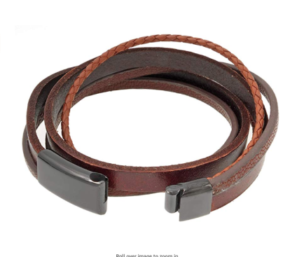 Multistranded Genuine Leather Bracelet