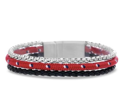 Ben Sherman Three Strand Bracelet