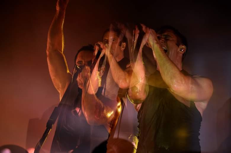 nine inch nails lallapalooza, trent reznor live, nin live, nin concert