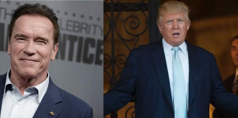 Arnold Schwarzenegger Donald Trump, Donald Trump Arnold Schwarzenegger Twitter, Schwarzenegger Trump