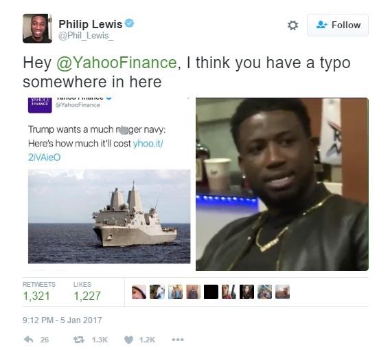 yahoo finance tweet