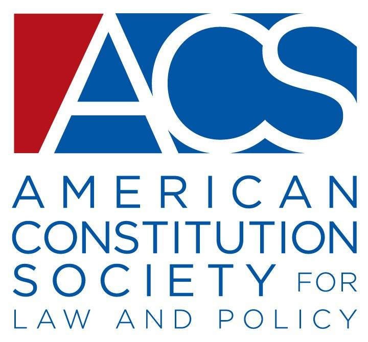 American Constitution Society for Law and Policy logo, American Constitution Society for Law and Policy, ACS logo