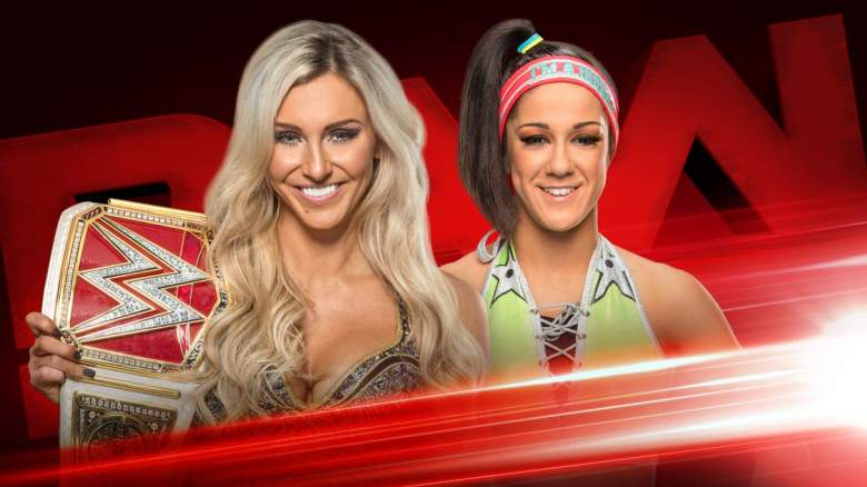 Monday Night Raw bayley charlotte, bayley vs charlotte, raw bayley charlotte match