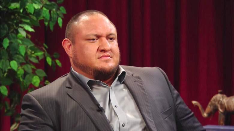Samoa Joe raw, Samoa Joe monday night raw, Samoa Joe interview