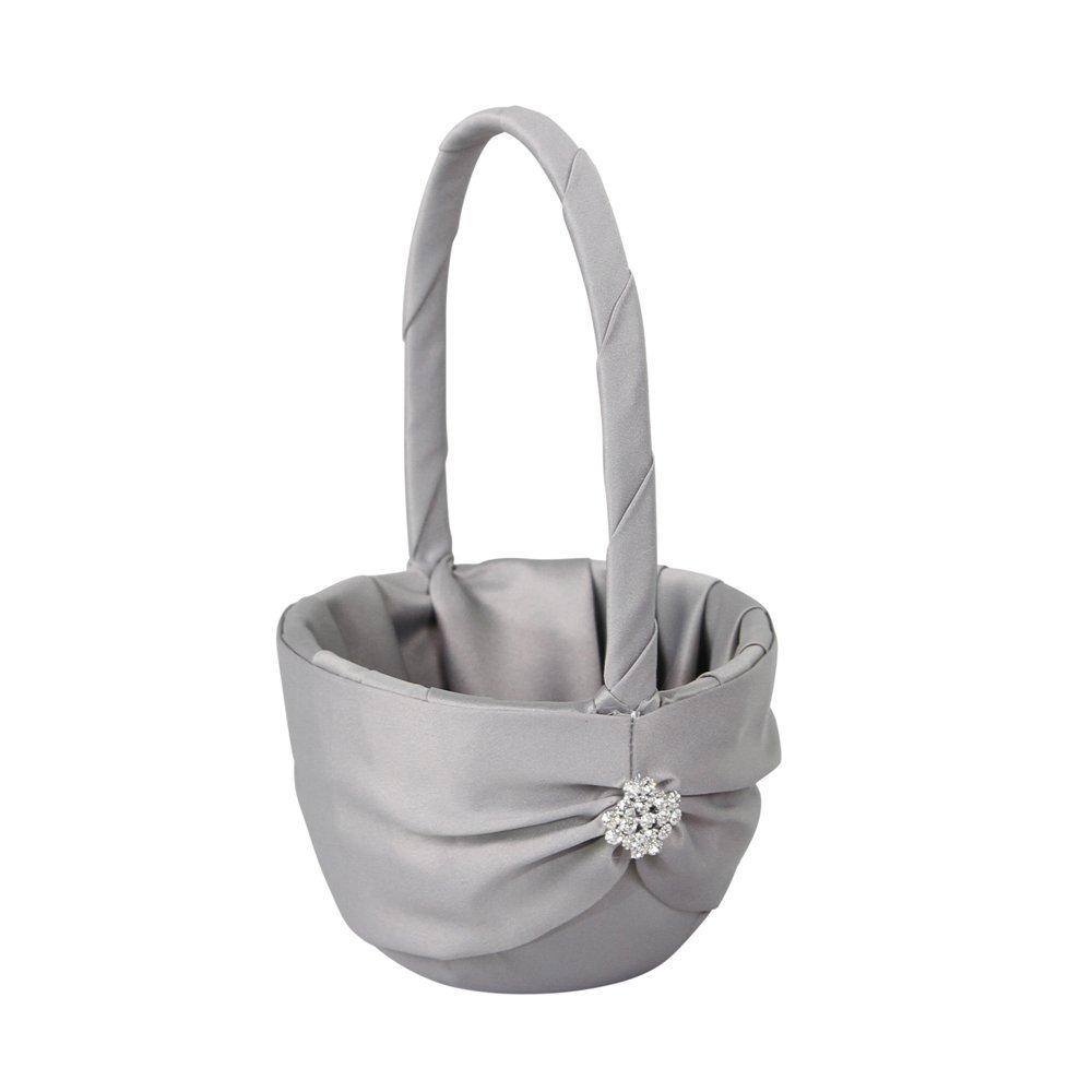 cheap flower girl baskets, flower girl baskets, rustic flower girl baskets, wedding baskets