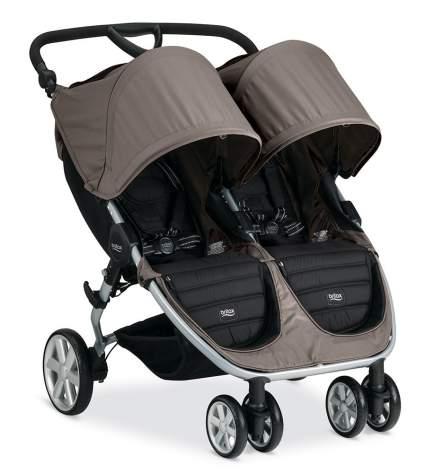 double side by side stroller, Britax B-Agile Double Stroller, twins stroller