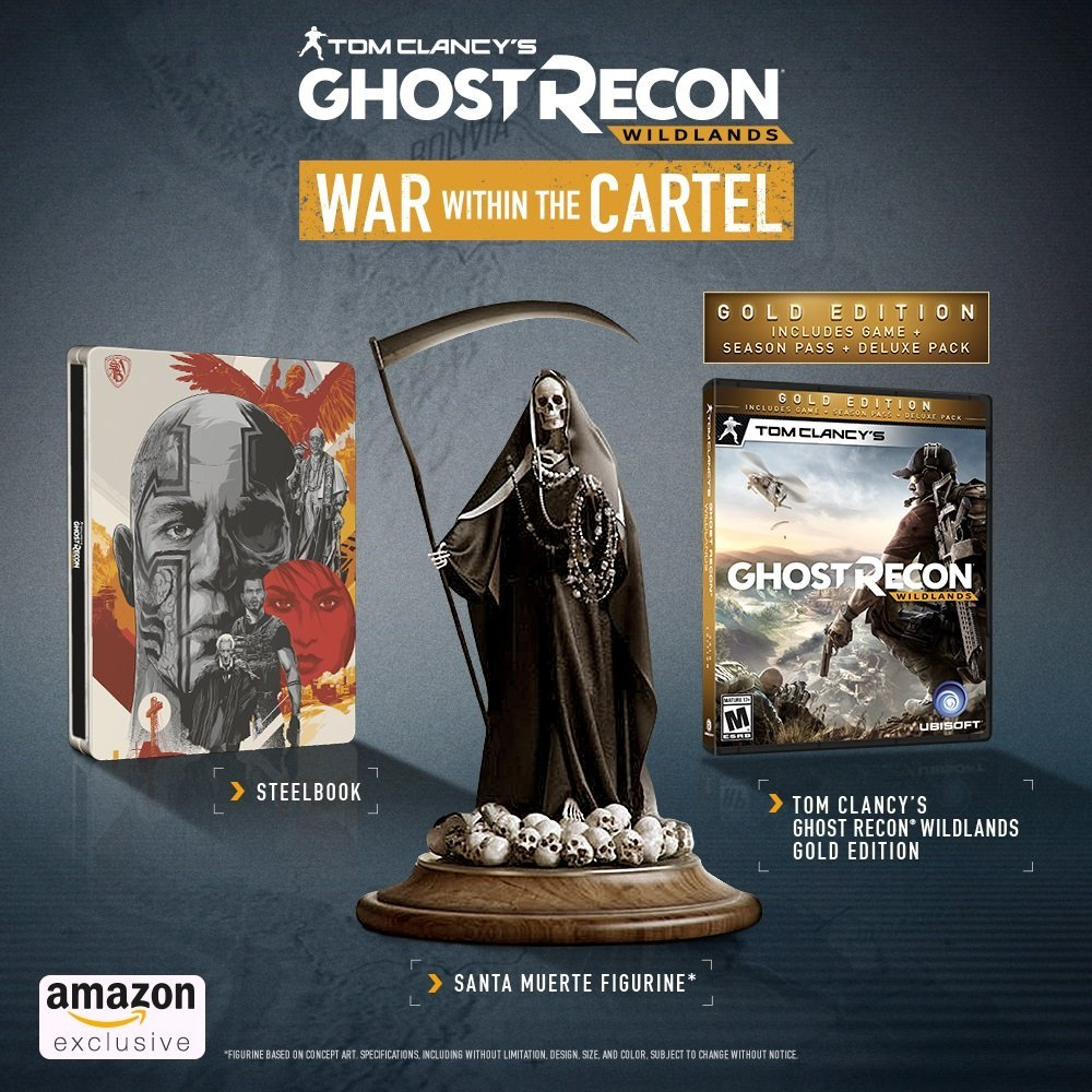 Ghost Recon Wildlands Collector's Edition
