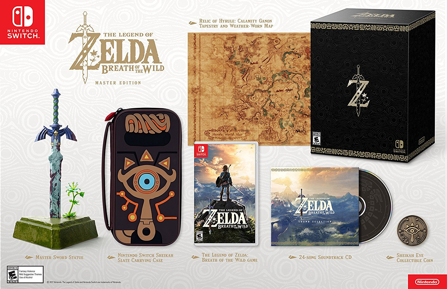 Breath of the Wild Master Edition