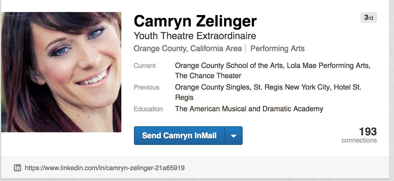 camryn zelinger linkedin, camryn zelinger