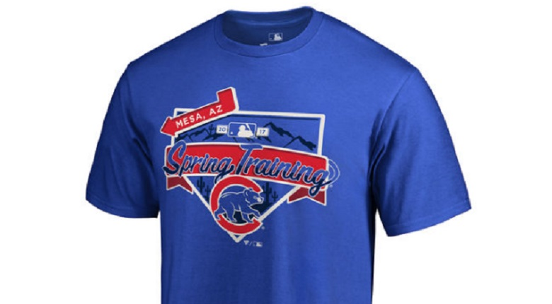 chicago cubs spring training gear apparel 2017 shirts hats jerseys kris bryant anthony rizzo