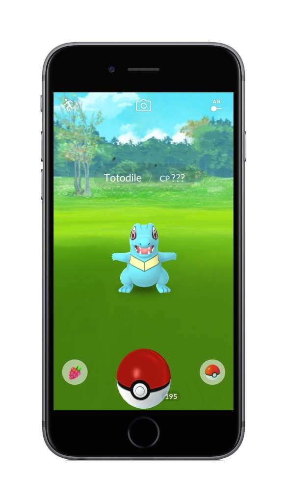 Pokemon Go item carousel, pokemon go items, Pokemon Go new update screenshots