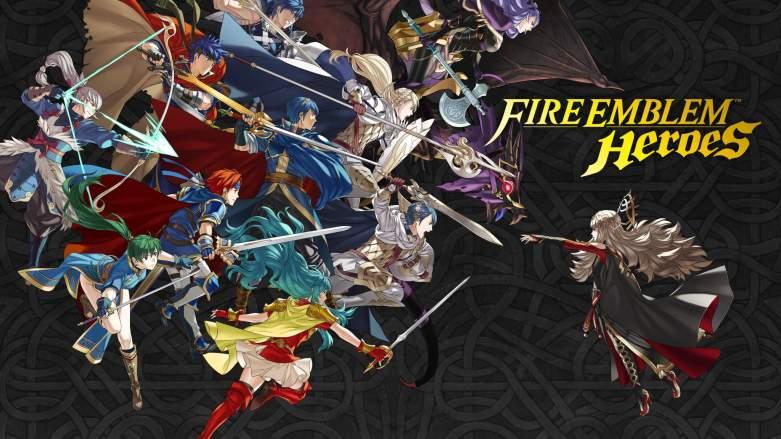 Fire Emblem Heroes, Fire Emblem Heroes Logo, Fire Emblem Heroes game, Fire Emblem iOS