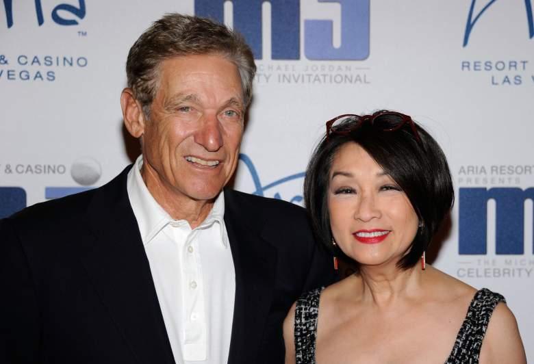 Maury Povich wife, Maury Povich Connie Chung, Maury Povich married, Connie Chung husband