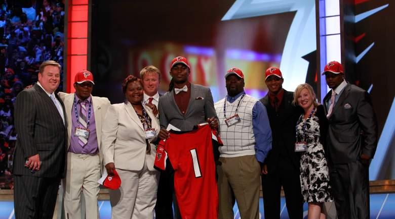 Julio Jones, Atlanta Falcons Wide Receiver, Julio Jones Falcons, Julio Jones family, Julio Jones mother