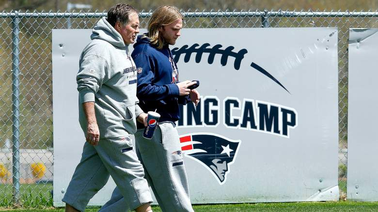 bill belichick girlfriend, linda holliday, pictures, family photos, son, daughter, wife
