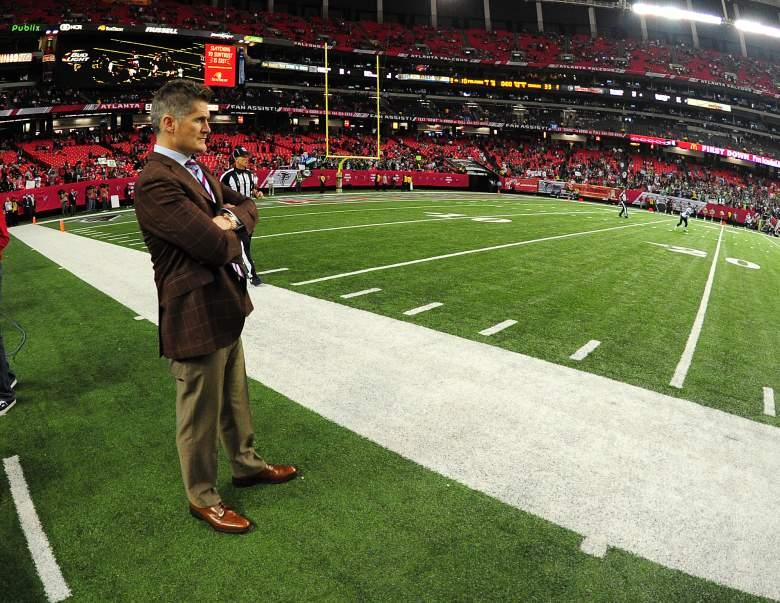 Thomas Dimitroff, Atlanta Falcons General Manager, Atlanta Falcons staff, Super Bowl GM