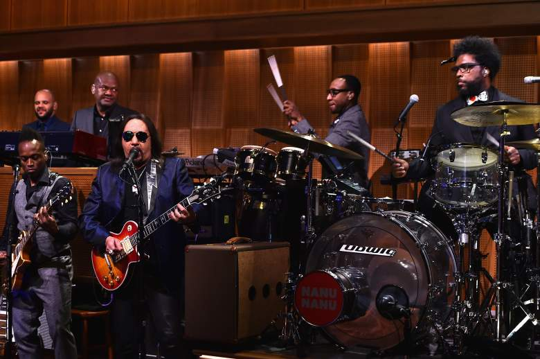 The Roots perform on a taping of The Tonight Show starring Jimmy Fallon. (Getty)