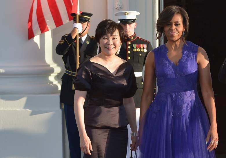 Shinzo Abe wife, Akie Abe, Shinzo Abe family, Akie Abe Michelle Obama