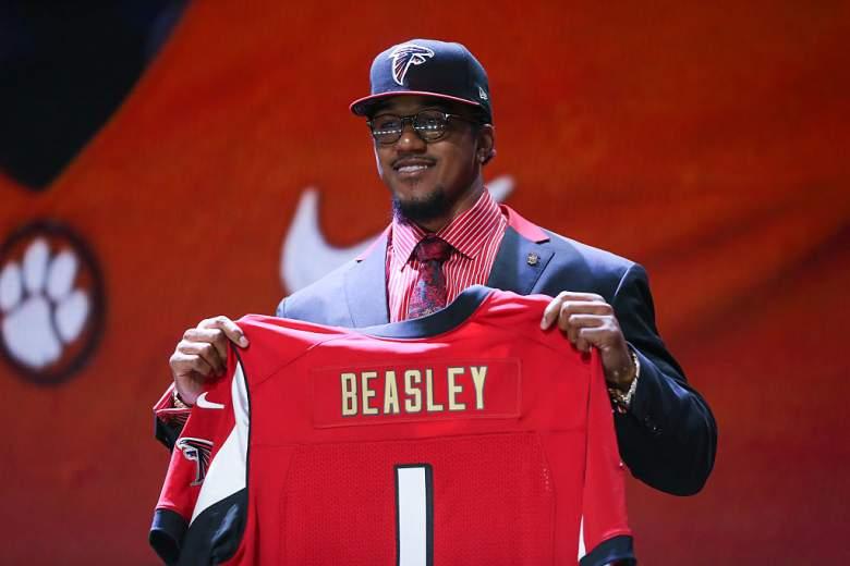 Beasley Draft, Beasley Falcons, 2015 Falcons draft, Beasley linebacker