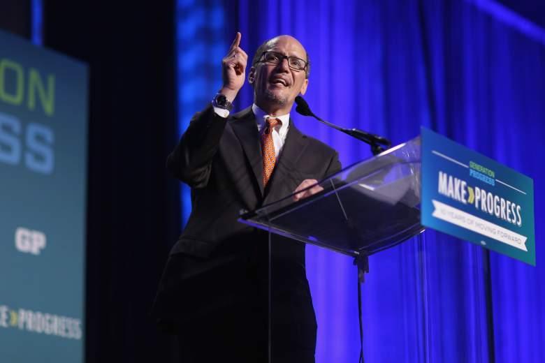 Thomas Perez addresses the 10th annual Make Progress National Summit at the Walter E. Washington Convention Center July 16, 2015 in Washington, DC. (Getty)
