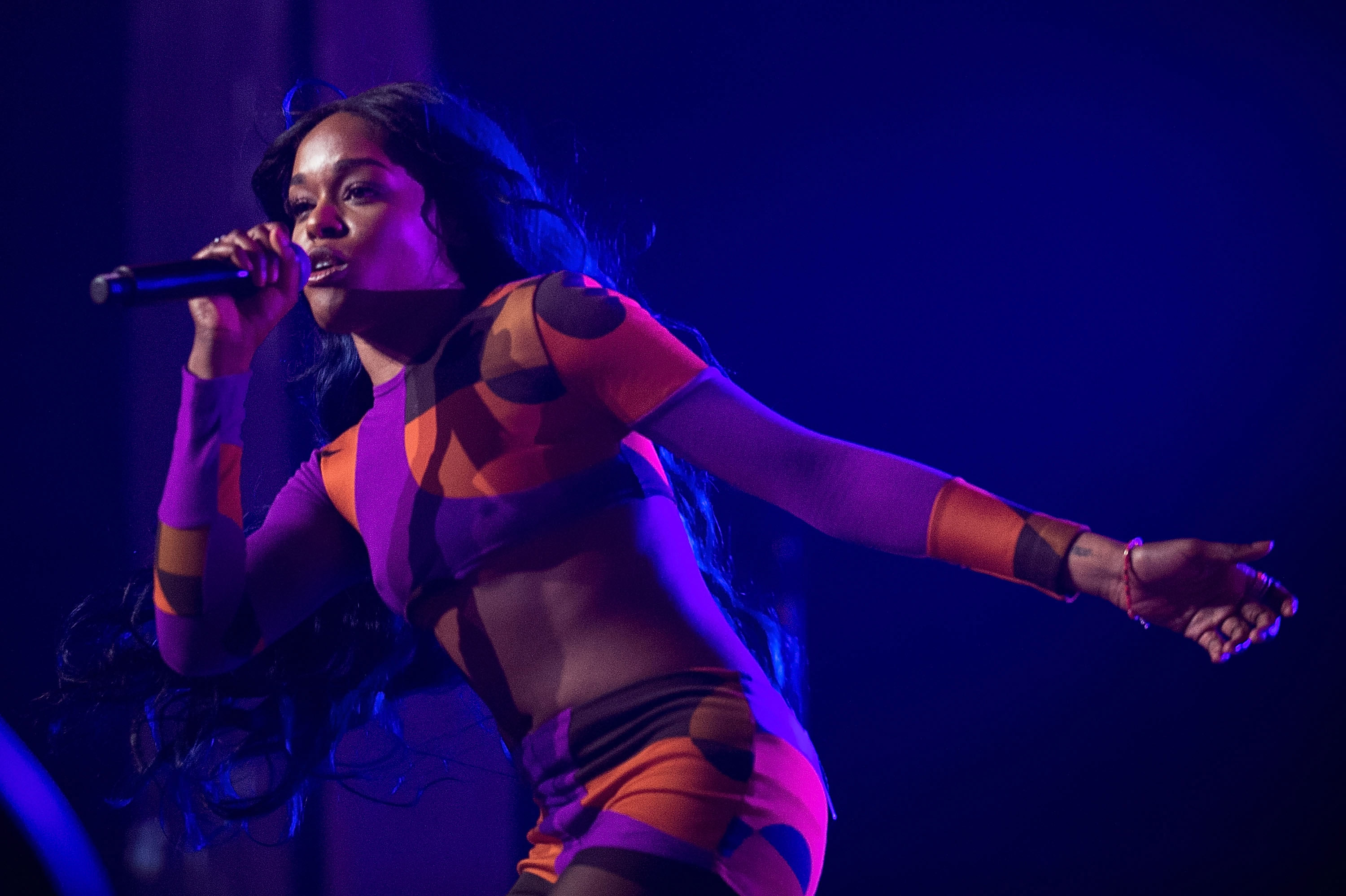 Azealia Banks performs during Splendour in the Grass on July 25, 2015 in Byron Bay, Australia. (Photo by Cassandra Hannagan/Getty)