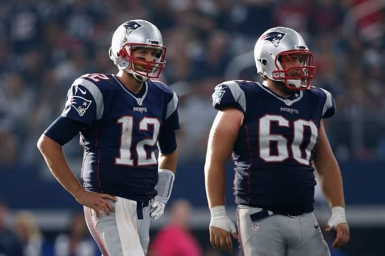 David Andrews, Patriots center, Patrios Super Bowl Roster, David Andrews stats