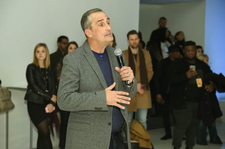 Brian Krzanich New York Fashion Week, Brian Krzanich ceo intel, Brian Krzanich intel
