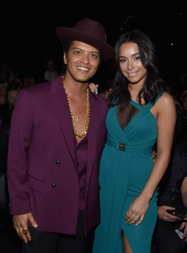 who is bruno mars dating, bruno mars and jessica caban, bruno mars girlfriend, bruno mars wife, is bruno mars married, who is bruno mars' wife,
